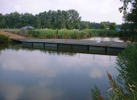 Bridges2000 oplossingen Pontons Pontonbrug